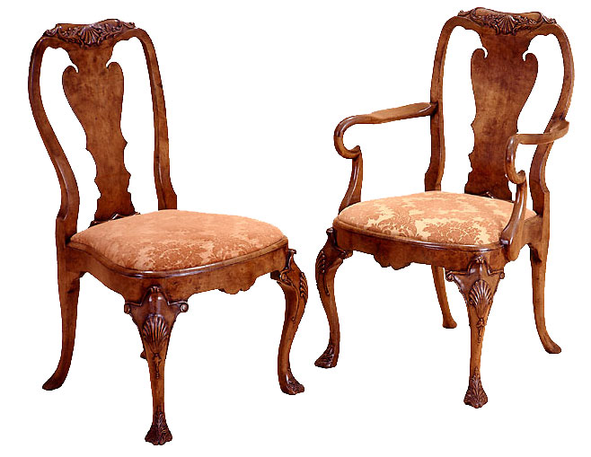 Queen Anne Style Chair.